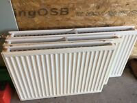 Set of three radiators