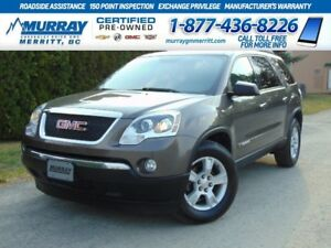 2008 GMC Acadia SLE**OnStar, Plush Seats, Cruise**