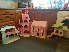 Girls bundle of wooden toys