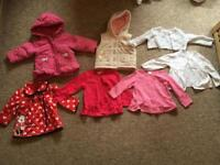 Bundle of 3months to 12 months baby girl clothes