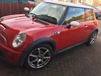 Mini Cooper S ***low mileage ***Great condition, 6 months Mot.