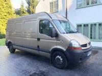 Automatic LWB Renault master Van
