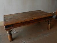 Indian Jali large coffee table