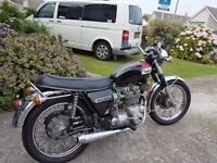 1973 Triumph Trident T150V for sale, lovely classic bike.