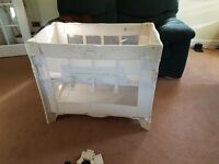 Arms reach co-sleeper natural excellent condition