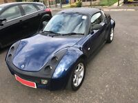 SMART ROADSTER 2005 698CC SEMI AUTOMATIC CONVERTIBLE