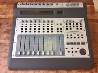 M-Audio Project Mix Audio Interface/Control Surface - 8 Inputs & 8 Motorised Faders - w/accessories