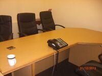 large desk suitable to a large office premises for sale
