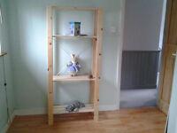 Ikea Wooden Shelving Unit