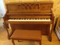 Young Chang Upright Consol Piano 2014 - Almost new