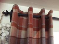 Next tartan curtains