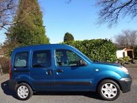 12 MONTH WARRANTY! 1 OWNER! (2007) RENAULT KANGOO 1.6 AUTOMATIC (CONSTABLES Disability Mobility MPV)