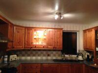 Farmhouse pine kitchen units