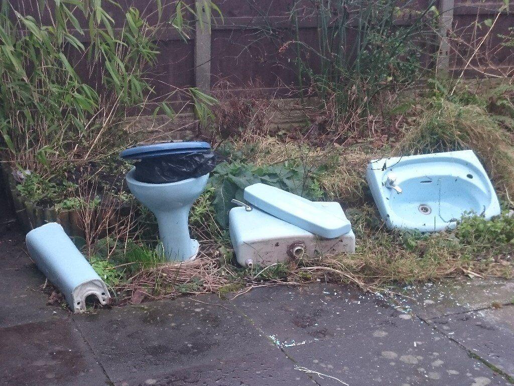 Bathroom Suites Manchester 1970s Bathroom Suite Aqua In Denton Manchester Gumtree