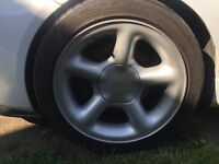 "Escort Cosworth Alloy wheels 4x108 16"""