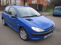 2001 51 PEUGEOT 1.4 LX 3 DOOR 1 FORMER KEEPER 60000 MILES FULL SERVICE HISTORY HPI CLEAR