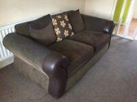 3 piece suite (sofa)