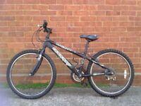 Older boy's mountain bike
