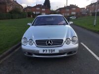 Mercedes CL 500 mint condition merfect driving quick sale or swap