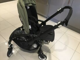 Bugaboo 3 pram khaki colour