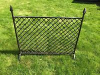 Cast Iron Fire Screen