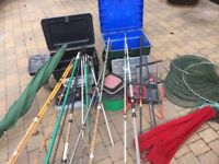 Assorted Course Fishing Tackle