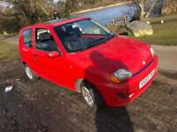 1999 Fiat Seicento 1.1 Sporting Red 58k