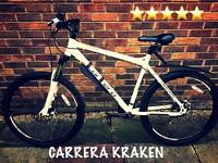 CARRERA KRAKEN MOUNTAIN BIKE - EXCELLENT CONDITION!!!!