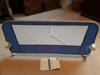 Blue bed rail by Mothercare