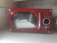 Microwave daewoo model KOOR 6N9RR 10 pounds