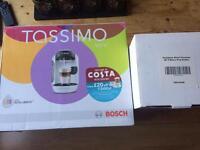 Bosch Tassimo Vivy coffee machine and Tassimo 48 T-Discs Pod Holder