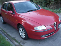 alfa romeo 147 twin spark very low mileage good condition priced to sell