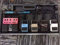 Boss BCB 60 complete with pedals