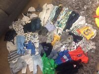 Baby boy bundle of clothes 0/3 and 3/6months
