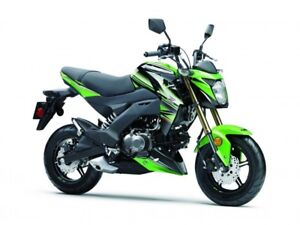 2017 Kawasaki Z125 PRO KRT Extra 1 Yr KPP Warranty $340 Value