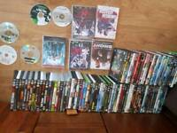Over 140 dvds
