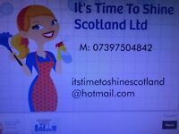 Have you thought about a cleaner? We are in Dunfermline & surrounding areas.