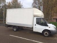 56 Foord Transit T350 13ft 7in Luton Van With Tail Lift