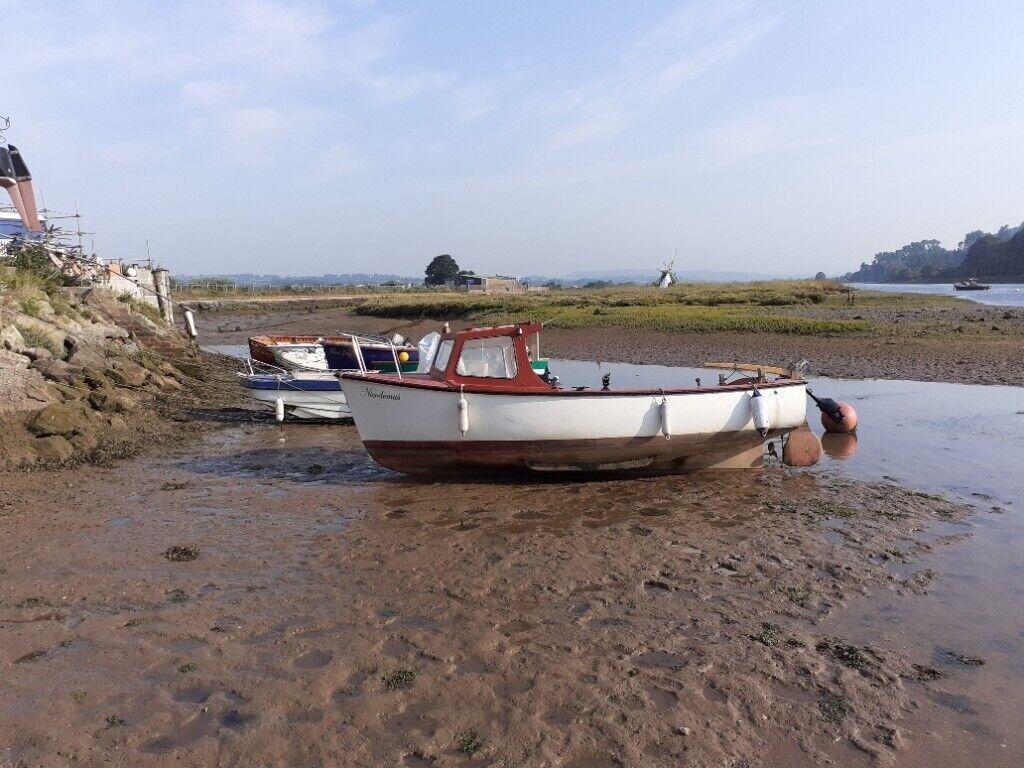 Plymouth pilot 18 fishing boat