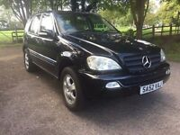 Mercedes ML270 CDI 2002 5 Doors Automatic ***Low Miles*4X4***
