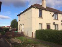 Spacious Double Room to Rent Let - 8 Fod St, Halbeath, Dunfermline, KY11 - garden parking bills inc