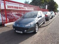 *PEUGEOT 307 S*STYLISH METALLIC GREY*2007*VERY TIDY*FULL YEARS MOT*EXCELLENT VALUE AT ONLY £1995*