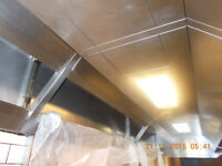 KITCHEN EXTRACTION CLEAN, CANOPY ,FAN AND DUCT FULL CEANING WITH CERTIFICATE