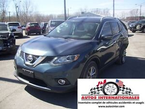 2014 Nissan Rogue SL 4X4 4CYL MAG RACK TOIT SROOF PANO CAMERA DE