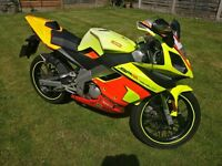 Derbi GPR 50 Geared Sportbike 50cc (similar to Aprilia rs 50)