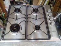 Hotpoint Built- Under Electric Double Oven and Four Ring Gas Hob