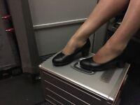 Worn ladies tights