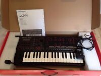 New Roland JD - Xi Synthesizer Complete with Goosneck Mic, Power Cable & USB 2.0 Cable