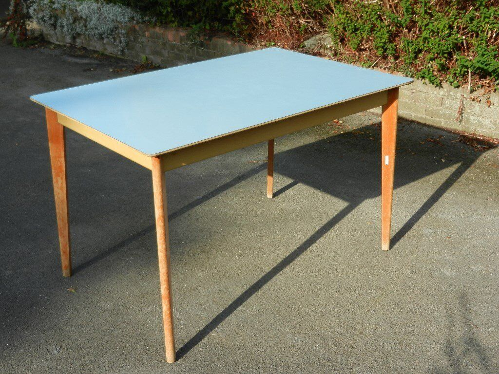 Vintage 1960's Formica Table by Remploy