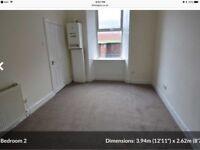 Central Hamilton 2 bedroom 2 bathroom ground floor flat